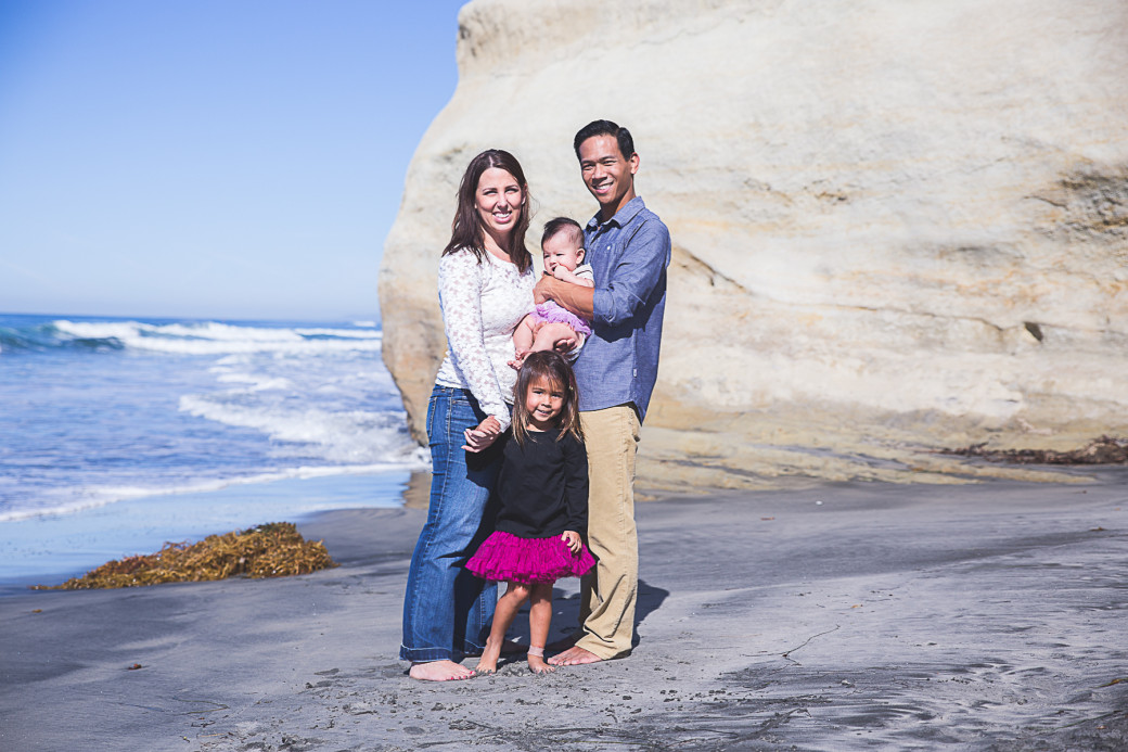 The Manzanilla Family-San Diego Beach Family Photographer