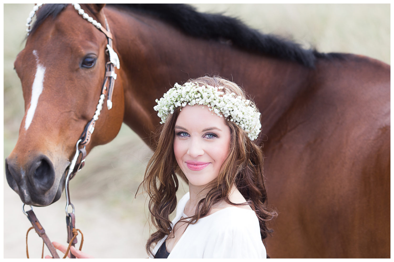 Oregon Coast Senior Shoot – Senior Horse Shoot
