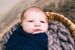 Baby Eli – Portland Newborn Photographer