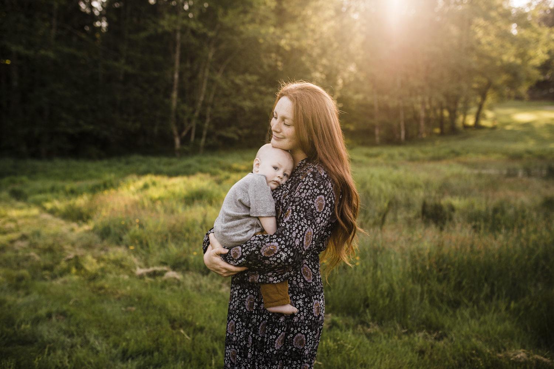 Golden Hour Family Session – North Plains, Oregon
