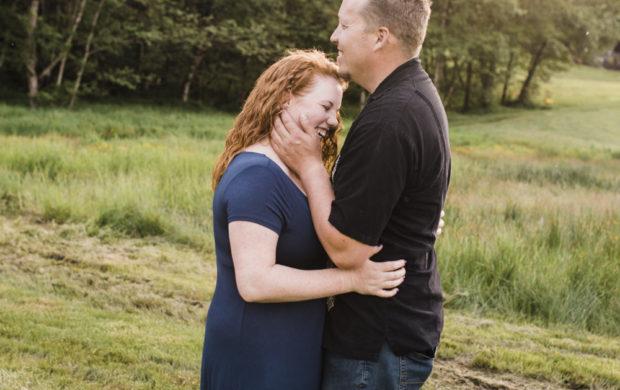 North Plains Engagement Photo- Lorisa + Justin