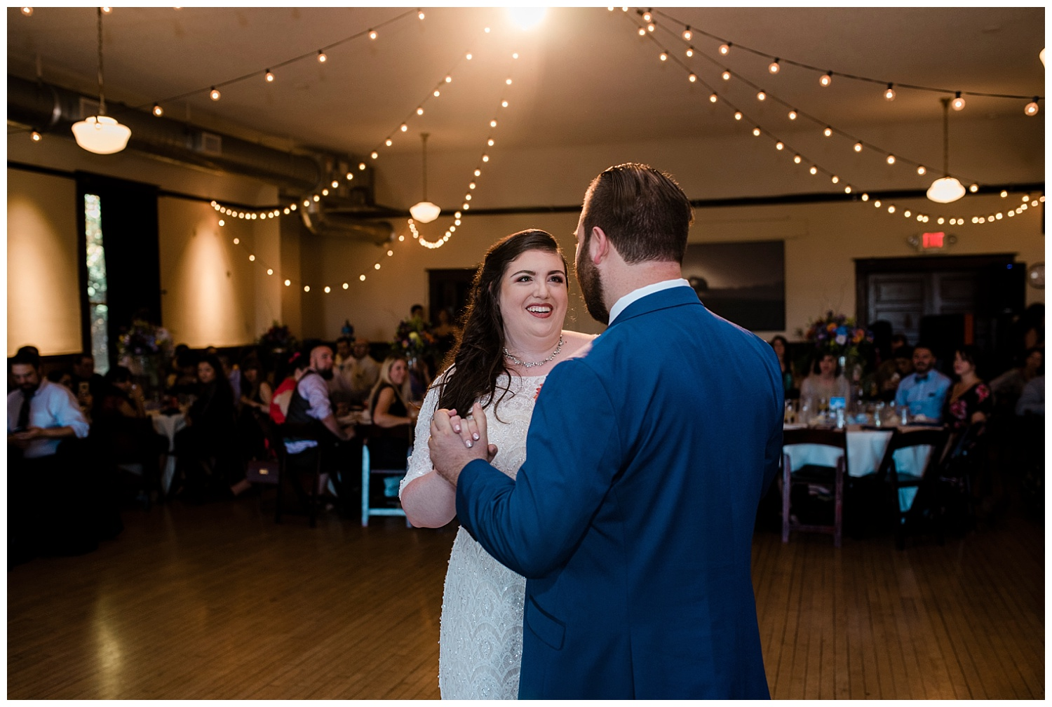 village ballroom wedding