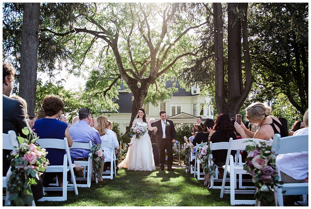 Alicia + Anthony: The Victorian Belle Portland Wedding